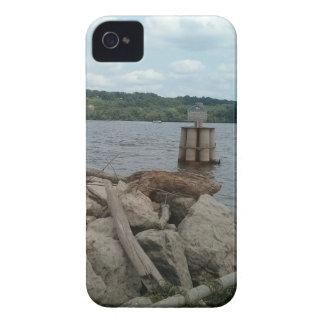 Riverwalk Dubuque Iowa Mississippi River iPhone 4 Case-Mate Cases