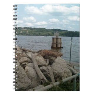 Riverwalk Dubuque Iowa Mississippi River Notebooks