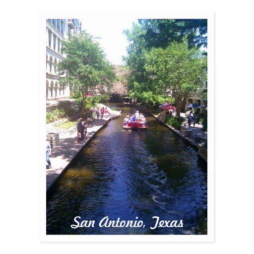 Riverwalk, San Antonio Post Card