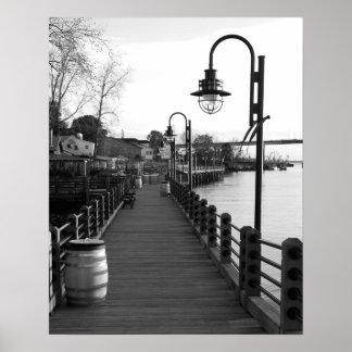 Riverwalk, Wilmington Poster