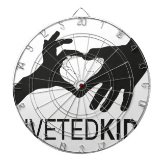 Riveted Kids Logo Dartboard