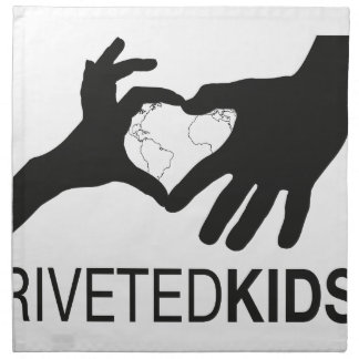 Riveted Kids Logo Napkin