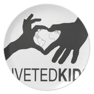 Riveted Kids Logo Plate