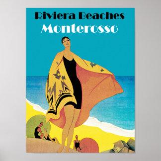 Riviera Beaches ~ Monterosso Poster
