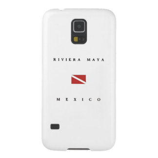 Riviera Maya Mexico Scuba Dive Flag Galaxy S5 Cover