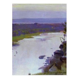 Rivière Belaya de Mikhail Nesterov- Cartes Postales