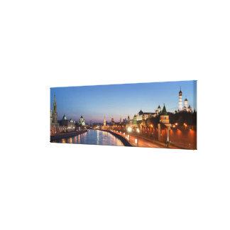 Rivière de Moscou au crépuscule Impressions Sur Toile