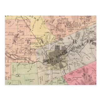 Rivière russe, Santa Rosa, banlieues noires Cartes Postales