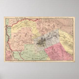 Rivière russe, Santa Rosa, banlieues noires d'Anal Poster