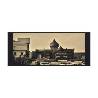 Riyadh Neighborhood Canvas Print