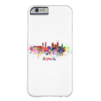 Riyadh skyline in watercolor barely there iPhone 6 case