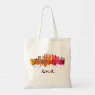 Riyadh V2 skyline in watercolor