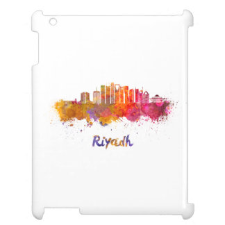 Riyadh V2 skyline in watercolor iPad Cases