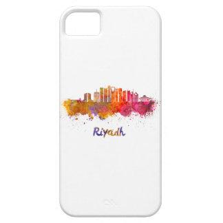 Riyadh V2 skyline in watercolor iPhone 5 Cases