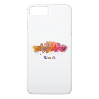 Riyadh V2 skyline in watercolor iPhone 7 Plus Case