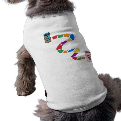 Riyah-Li conçoit le PB à J T-shirt Pour Chien