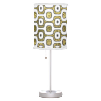 RJ Ipanema golden pattern sidewalk Table Lamp
