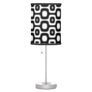 RJ Ipanema sidewalk black white Desk Lamps
