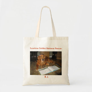 RJ  Shopping Bag - Sunshine Goldens