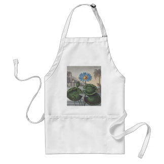 RJ Thornton - The Blue Egyptian Water-Lily Adult Apron