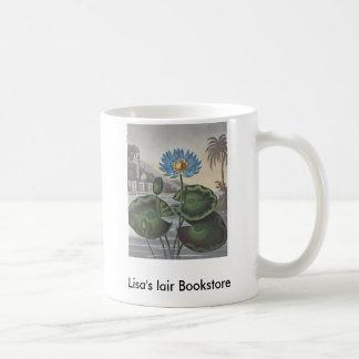 RJ Thornton - The Blue Egyptian Water-Lily Basic White Mug