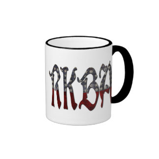 RKBA Right to Keep and Bear Arms Ringer Coffee Mug
