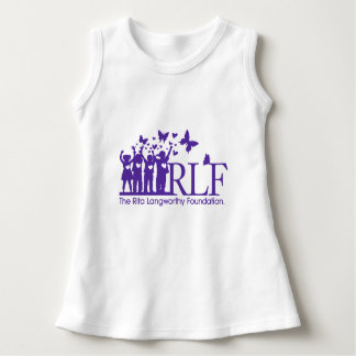 RLF Logo Baby Sleeveless Dress