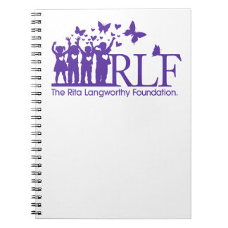 RLF Logo Notebook, 80 pages Notebooks
