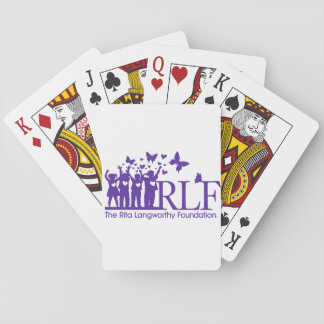 RLF Logo Playing Cards, Standard Index faces Poker Deck