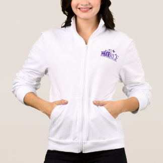 RLF Women's Am Apparel CA Fleece Zip Jogger