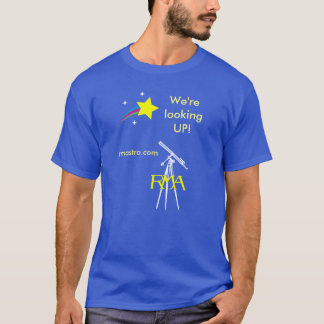 RMA Looking-Up Astronomy T-Shirt