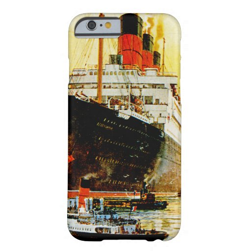 RMS Berengaria iPhone 6 Case