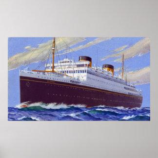 RMS Britannic Poster