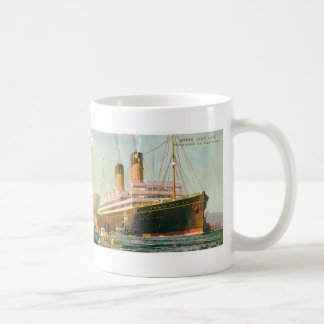 RMS Laurentic Classic White Coffee Mug