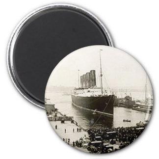 RMS Lusitania Magnet