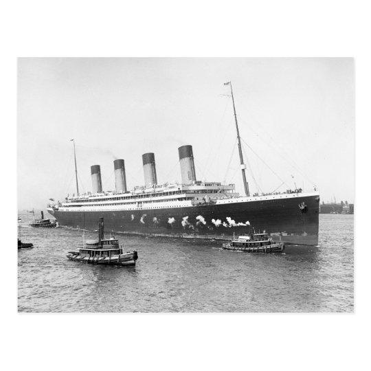 RMS Olympic, 1911 Postcard