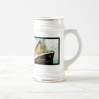 RMS Titanic 100th Anniversary Beer Steins
