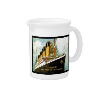 RMS Titanic 100th Anniversary Beverage Pitchers
