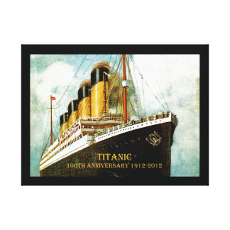 RMS Titanic 100th Anniversary Canvas Print