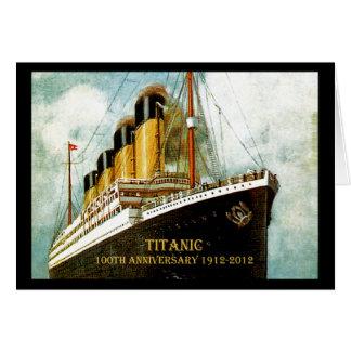 RMS Titanic 100th Anniversary Card