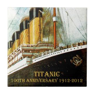RMS Titanic 100th Anniversary Ceramic Tiles