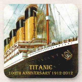 RMS Titanic 100th Anniversary Coasters