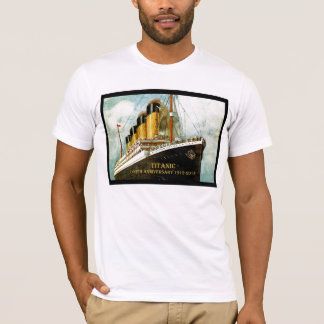 RMS Titanic 100th Anniversary men's T T-Shirt