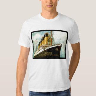RMS Titanic 100th Anniversary men's T T-shirts