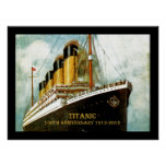 RMS Titanic 100th Anniversary Posters