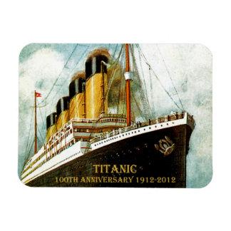 RMS Titanic 100th Anniversary Rectangular Photo Magnet
