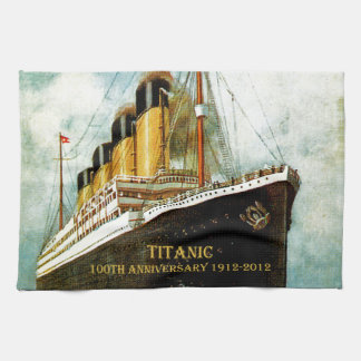 RMS Titanic 100th Anniversary Towel