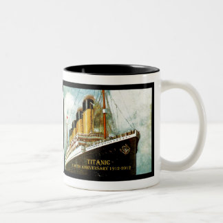 RMS Titanic 100th Anniversary Two-Tone Coffee Mug
