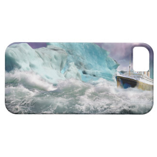 RMS Titanic and Iceberg Painting iPhone 5 Covers