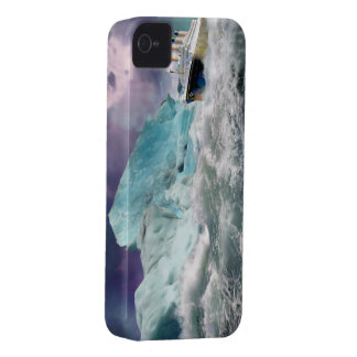 RMS Titanic and Iceberg Painting Case-Mate iPhone 4 Case